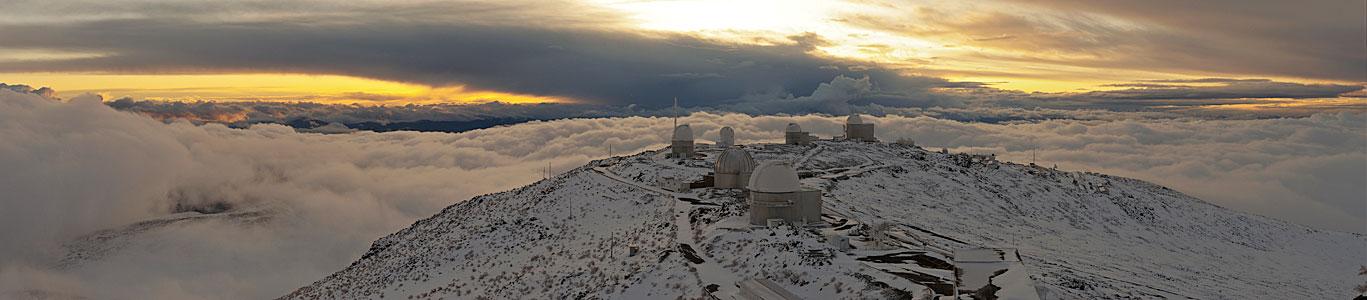 La Silla after a snow storm