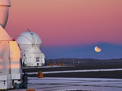 Lunar Eclipse at Paranal