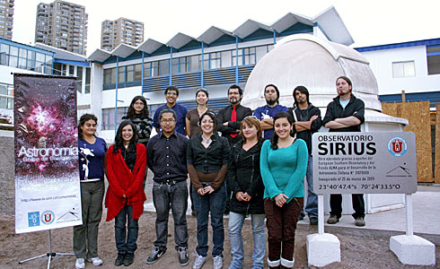 Outreach Group of the Astronomy Institute at Universidad Católica del Norte