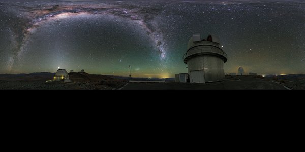 Panorama View of La Silla Telescopes Shown in UHD