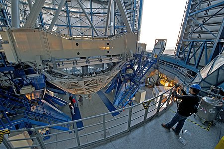 Open Dome View of VISTA
