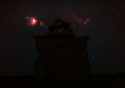 Ultra HD Expedition day 5: Orion and Horsehead Nebula over the VLT
