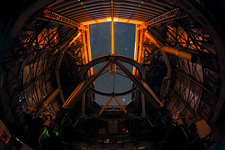 Very Large Telescope Guide Star Laser in UHD