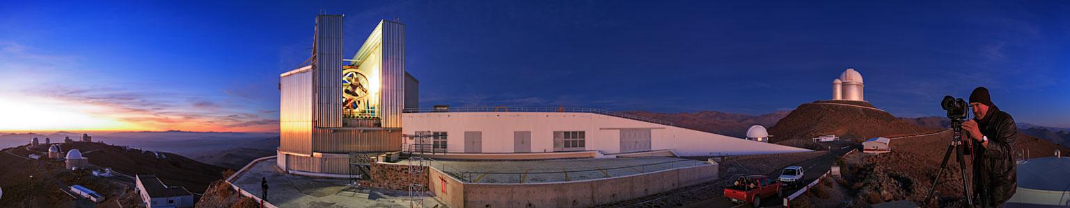 UHD-Panorama von La Silla
