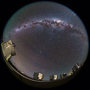 The Full Paranal Night Sky