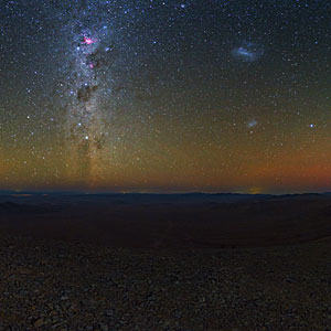 Night over the Atacama