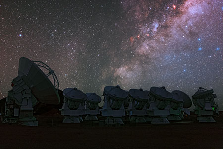 The 66-antenna ALMA array