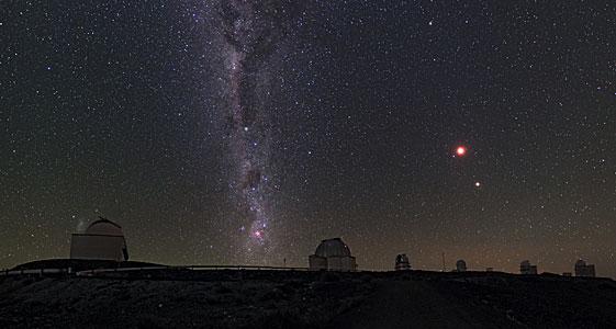 Chilean Night Sky Revealed at La Silla