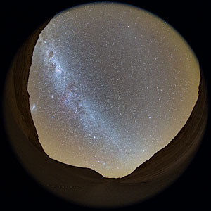 Milky Way Stretches Across the Chilean Night Sky