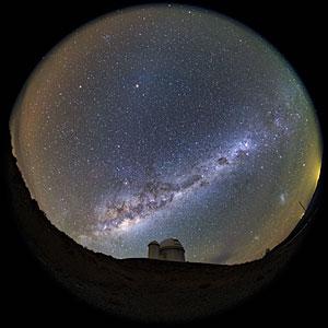 3.6m Telescope Fish-eye View