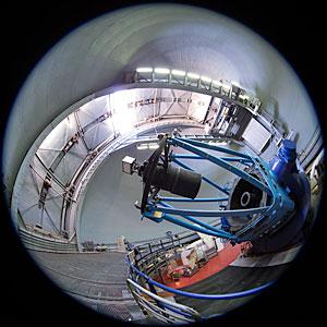 Fulldome View of the ESO 3.6-metre Telescope