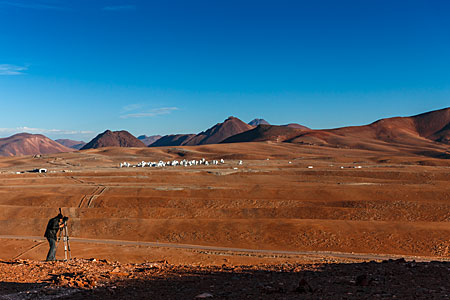Distant view of ALMA
