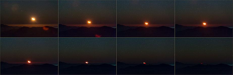Atacama Moonset