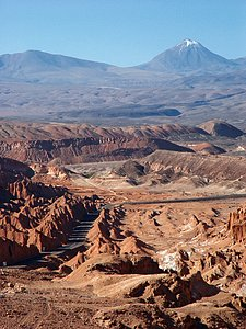 Arriving San Pedro de Atacama