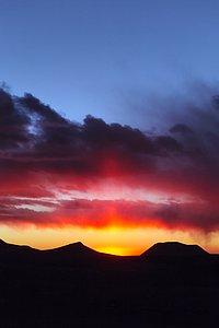 Chajnantor sunset