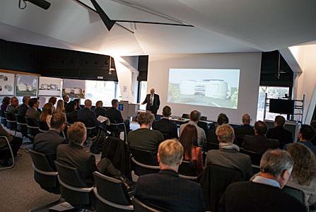 Klaus Tschira presentation at the ESO Supernova signing event
