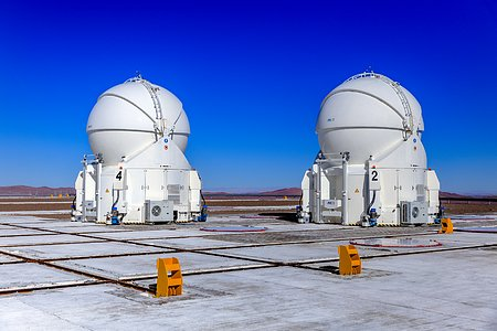 Auxiliary Telescopes at Paranal