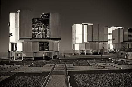 The VLT at Paranal Observatory