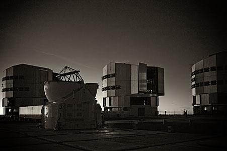 The VLT at Paranal Observatory