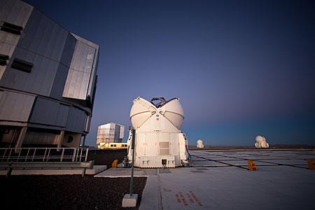 VLT´s Auxiliary Telescopes Opening
