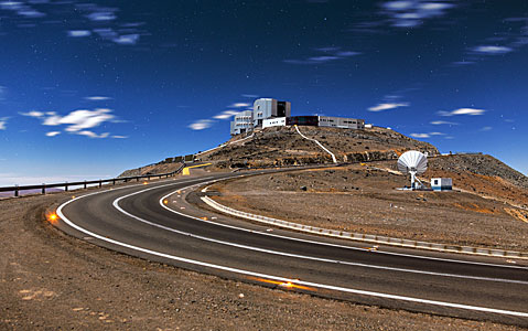 The path to Paranal