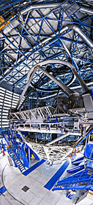Inside the dormant telescope's lair