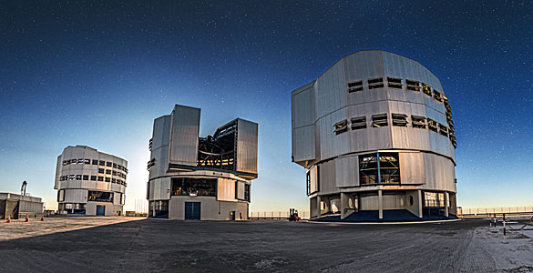 VLT at twilight