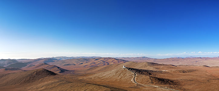 Panorama of the Atacama from Paranal