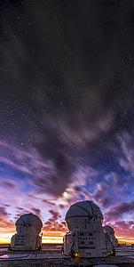 A stormy sky