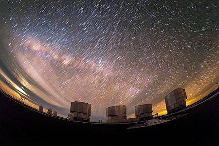 Dragged Milky Way
