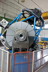 VLT Survey Telescope under construction
