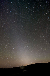 Zodiacal Light over Paranal