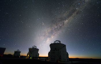 Mounted image 024: Zodiacal light at Paranal
