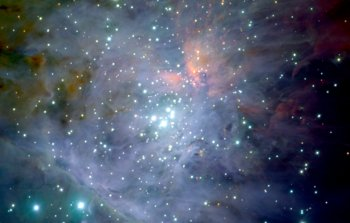 Mounted image 029: The Orion Nebula: the jewel in the sword