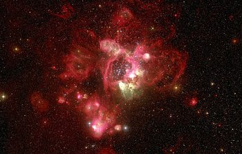 Mounted image 143: N44 in the Large Magellanic Cloud