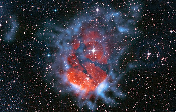 Mounted image 026: Glowing stellar nurseries