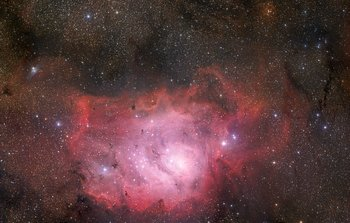 Mounted image 135: The Lagoon Nebula of Sagittarius
