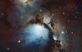 Mounted image 134: Messier 78: a reflection nebula in Orion