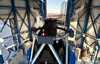 Mounted image 146: The VLT Survey Telescope