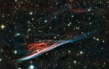 Mounted image 160: The Pencil Nebula