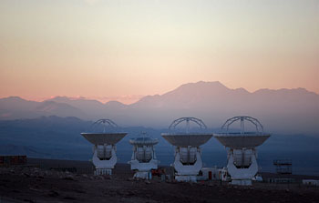 Mounted image 098: ALMA antennas at OSF