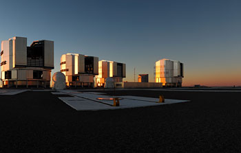 Mounted image 008: VLT panorama