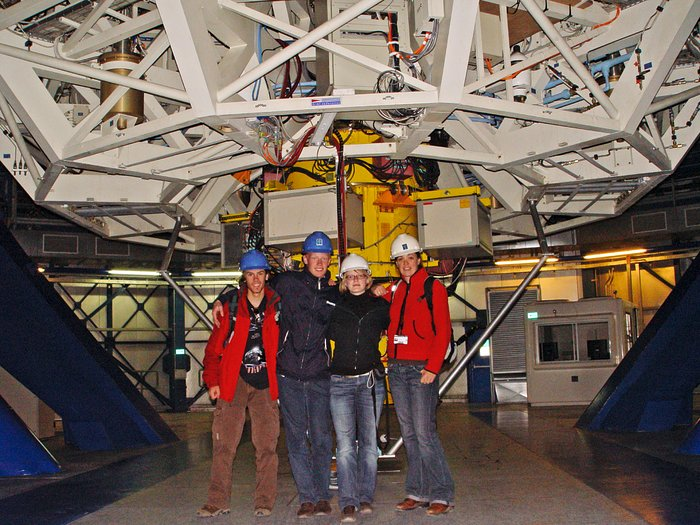 Catch a Star 2007 winners at Paranal