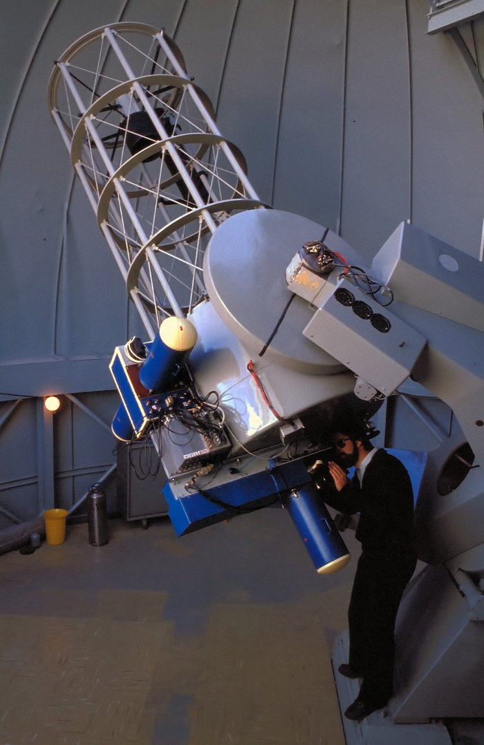 Dutch 0.9-metre telescope, 1979