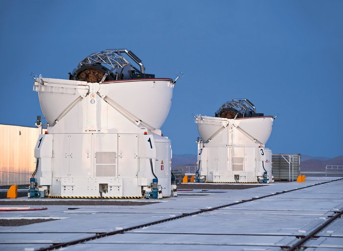 Two Auxiliary Telescopes