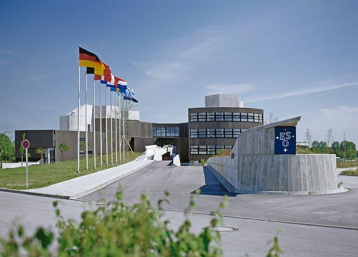 ESO HQ in Garching, 1980