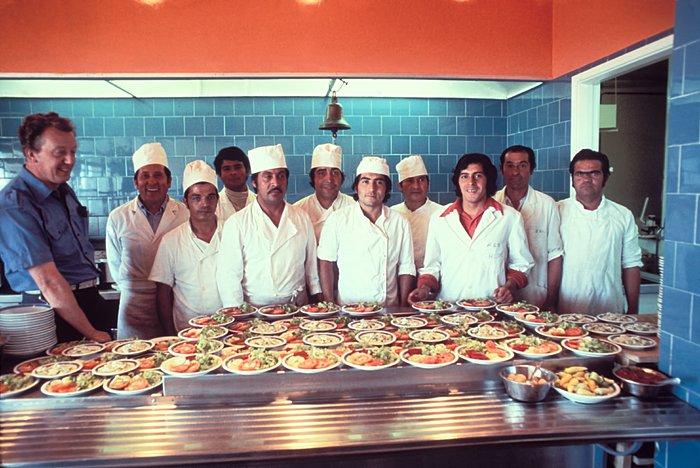 Chefs at La Silla
