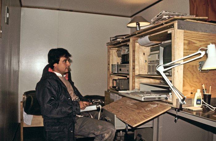Site testing on La Montura