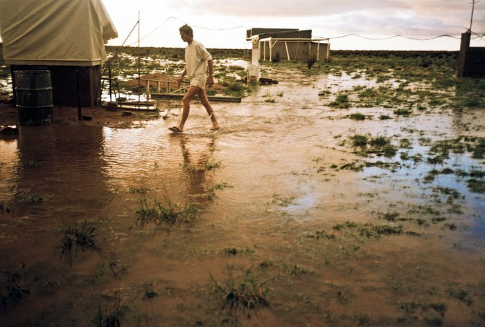Rainy day in Namibia