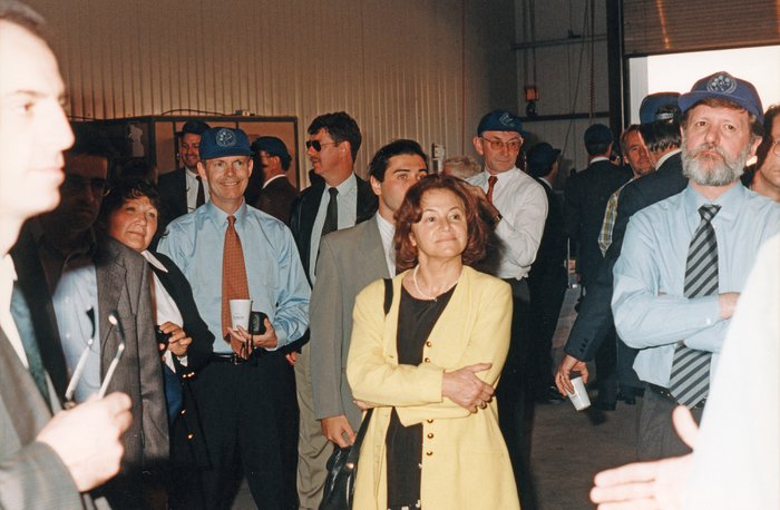 Guests at Paranal inauguration